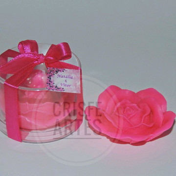 Sabonete rosa 1