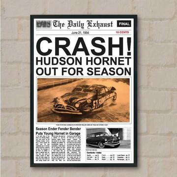 Pôster Doc Hudson Carros