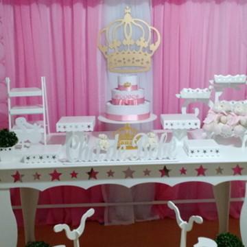 Locação Decoração Cha de bebê Princesa 2