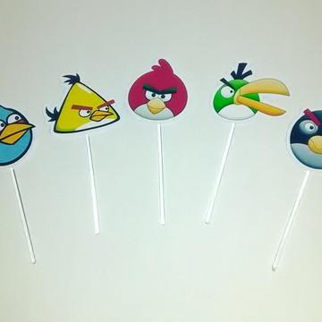 100 TOPPERS P/ DOCINHOS Angry Birds