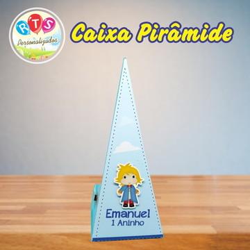Caixa Pirâmide - Pequeno Príncipe