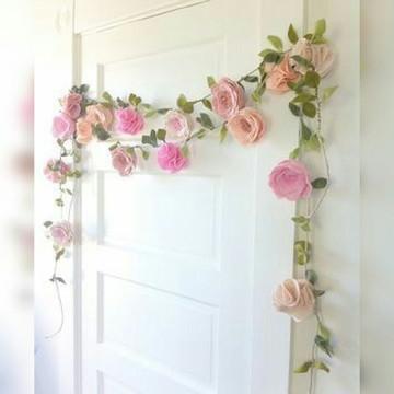 Varal de flores