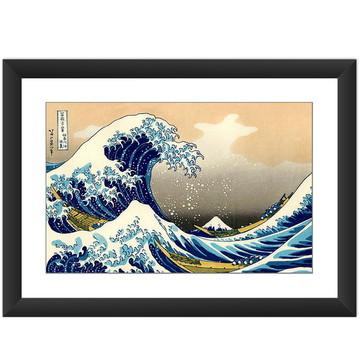 Quadro A Grande Onda Kanagawa Asia Arte