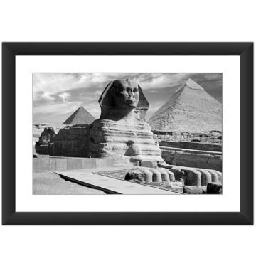Quadro Piramides Esfinge Egito Cidade