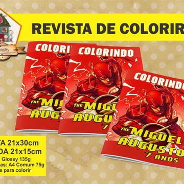 Revista Para Colorir FLASH