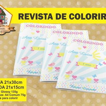 Revista Para Colorir RAIO DO SOL