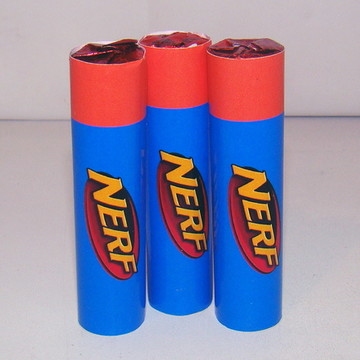 "Baton personalizado ""Nerf"""