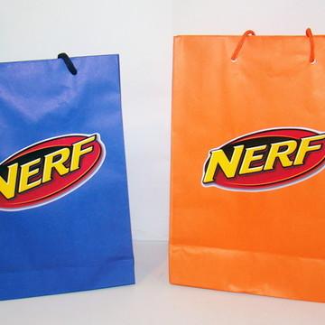 """Sacolinha Personalizada """"NERF"""""""