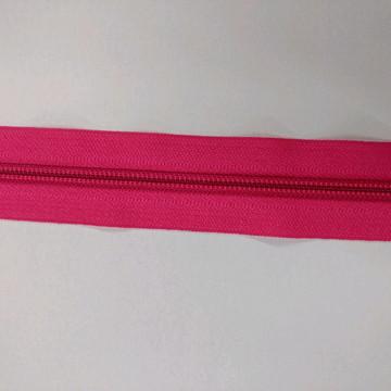 Zíper em metro rosa pink