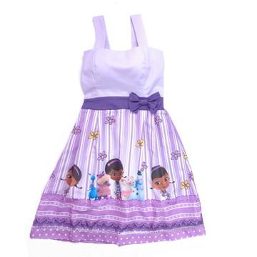 Vestido Doutora Brinquedos Adulto