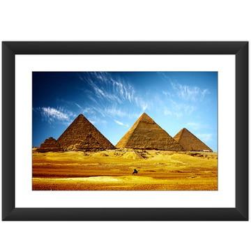 Quadro Piramide Egito Cidades Decoracao