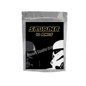 Saquinho Metalizado - Star Wars