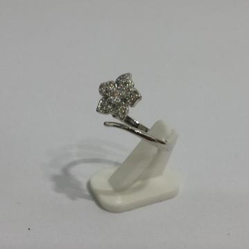 Anel de Falange Prata com Pedra