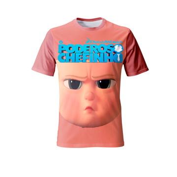 Camiseta O Poderoso Chefinho - Infantil