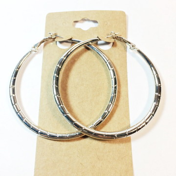 Argola Maxi bijoux prateada