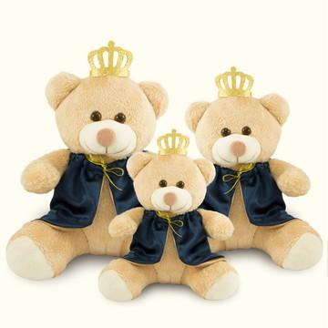 Trio De Ursos de Pelúcia Realeza