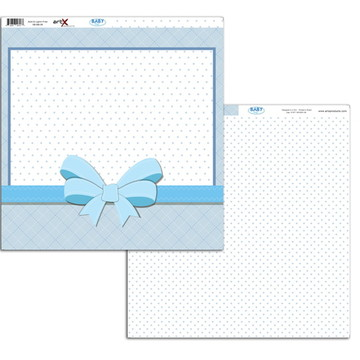 Papel Scrapbook Baby Boy 1 fl. #BB-06