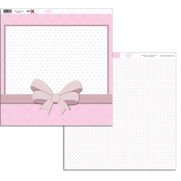 Papel Scrapbook Baby Girl 1 fl. #BB-07