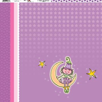 Papel Scrapbook Fairyland 1fl. #FL-03