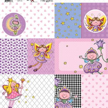 Papel Scrapbook Fairyland 1fl. #FL-05