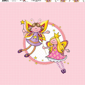 Papel Scrapbook Fairyland 1fl. #FL-06