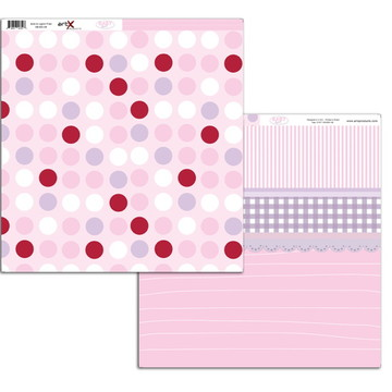 Papel Scrapbook Baby Girl 10 fl. #BG-12