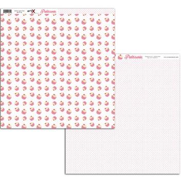 Papel Scrapbook Patisserie 1fl. #PT-02