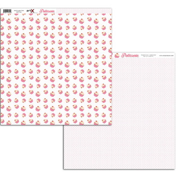 Papel Scrapbook Patisserie 10fl. #PT-02