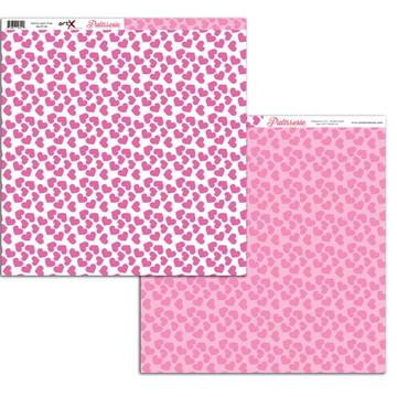 Papel Scrapbook Patisserie 1fl. #PT-08