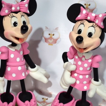 Mickey Safari / Minnie para Decoração