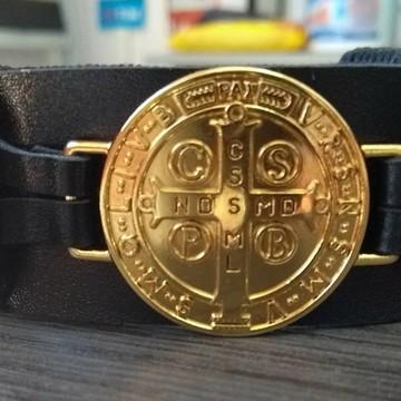 Bracelete Medalha de São Bento