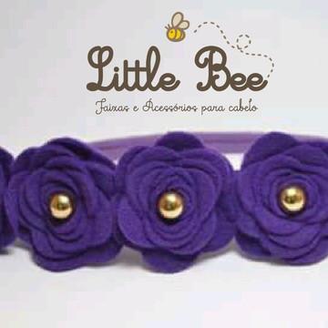 headband de Flores de feltro