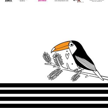 Papel Scrapbook Birds 10fl. ##BD-03