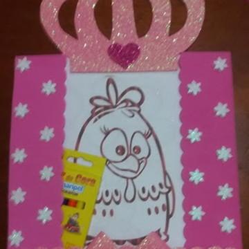 Lembrancinhas Kit Pintura Princess