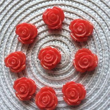 Flor Artesanal 2 cm -Artesanato Chinelor