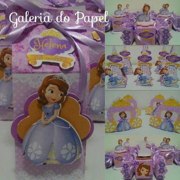 Kit Princesa Sofia 50 peças