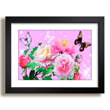 Quadro Flores Vaso Decorativo F36