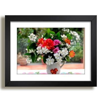 Quadro Floral Arranjo Beleza F36