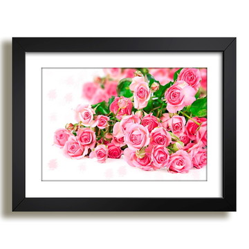 Quadro Flores Arranjo Decorativo F36