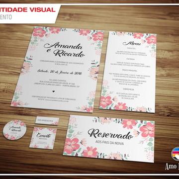 Kit Identidade Visual Digital Casamento