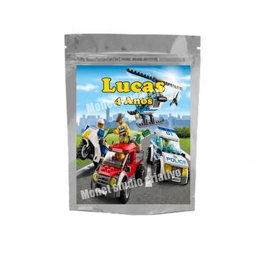 Saquinho Metalizado - Lego City