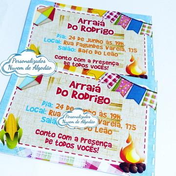 Convite - Arraiá/ Caipira
