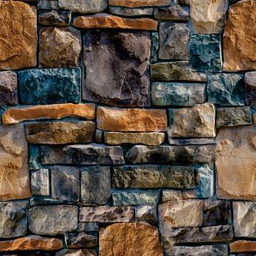 Papel de Parede Pedras Lindas E Azuladas