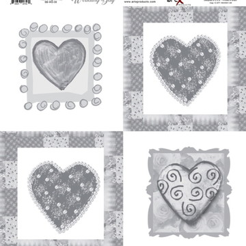 Papel Scrapbook Wedding Day 1 fl #WD-06