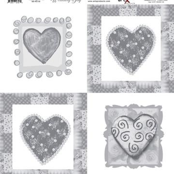 Papel Scrapbook Wedding Day 10 fl #WD-06