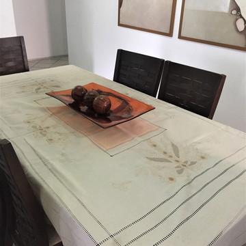 Toalha de mesa bordada à mão PA4