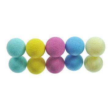 Cordão de luz A PILHA 20 Multicolorido