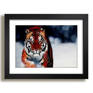 Quadro Tigre Natureza Decoracao F37