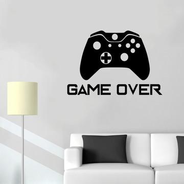 Adesivo Decorativo Controle Game Over