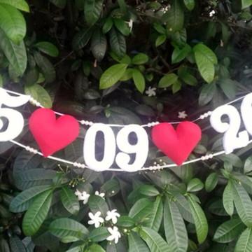 Varal salve a data para Ensaio de Pre Wedding - MOD 2